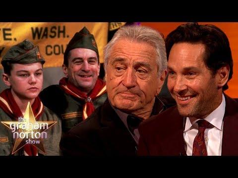 Robert De Niro & Paul Rudd Helped Shaped Leonardo Dicaprio's Career   The Graham Norton Show