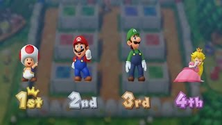 Mario Party 10 - All Character Victory Animations