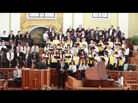 """Corul unit al bisericii """"Betel"""" la Festivalul Pascal """"Laudă Mielului"""""""