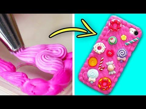 23 SUPER CUTE DIY PHONE CASE IDEAS