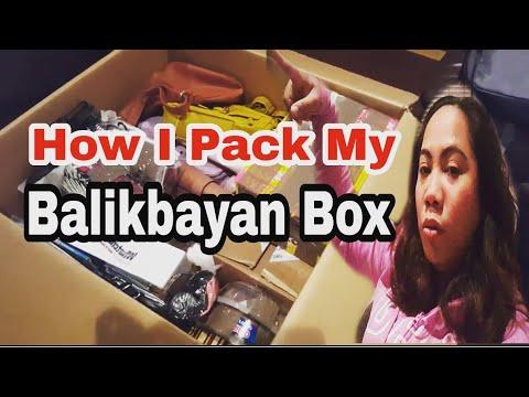 #BalikbayanBox Filipino Nurse in Ireland:How To Pack A Balikbayan Box