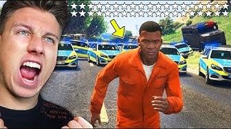 1000 STERNE in GTA 5 bekommen! (können wir fliehen?)