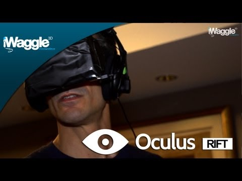 GamesCom 2012 |  Oculus Rift Hands-On And Interview With Palmer Luckey