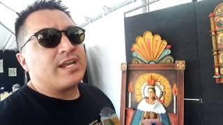 SPANISH MARKET SANTA FE 2019 – ARTIST INTERVIEWS Nicolas Otero