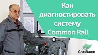 Как диагностировать систему Common Rail?  К. Курганов. (обучение GrunBaum CR150/350/550). Часть 1/2