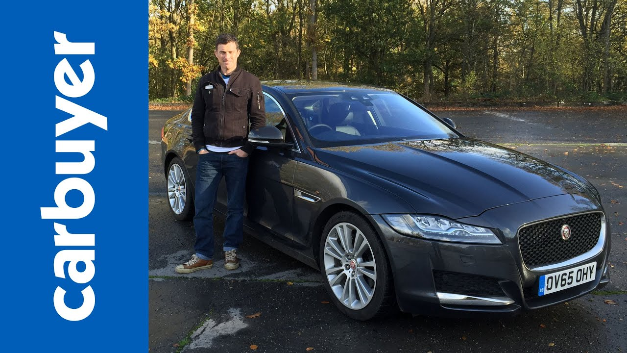 New Jaguar XF 2015 Review   Carbuyer   YouTube