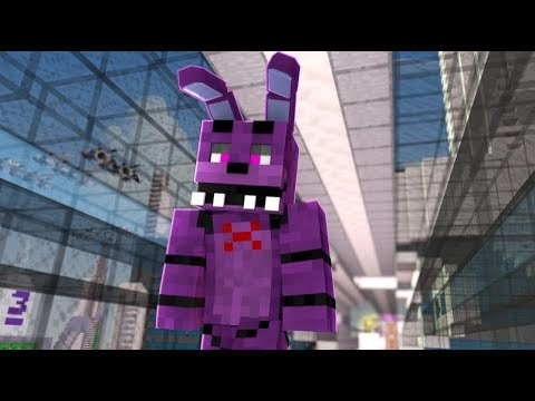 The Secret Life of Bonnie - Bonnie Goes To The Future! (Minecraft FNAF Roleplay)