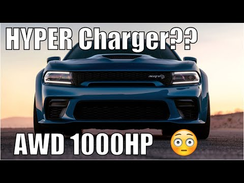 "Dodge ""Hyper Charger"" LEAKED! AWD 1000hp Angel!"