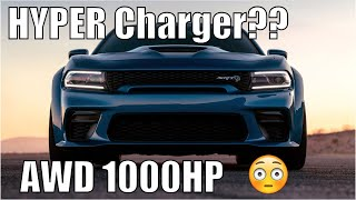 """Dodge """"Hyper Charger"""" LEAKED! AWD 1000hp Angel!"""