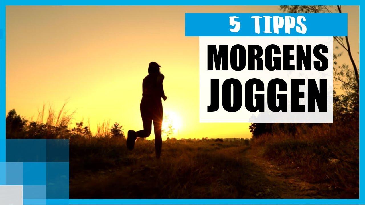Joggen am Morgen: 5 Tipps für deine frühe Laufrunde 🏃♂️