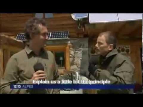 French Television talks about Free Pure Energy Overunity System. Motor/ Alternators