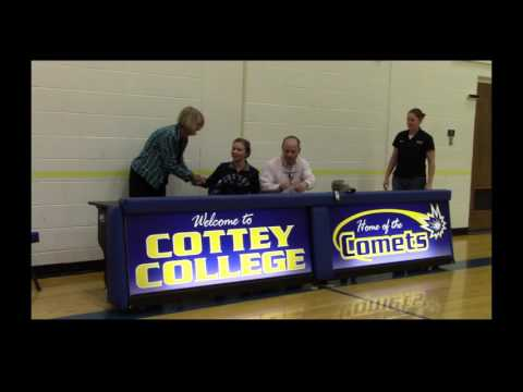 Cottey College: Golf Signee
