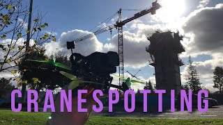 CRANESPOTTING - FPV FREEstyle - Busted by Security