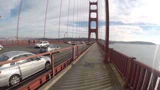 Golden Gate Bridge Chevron Tanker Ship Traffic Droid Joist GoPro Hero3+ Black 60fps Traffic Droid