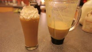 How to Make an Orange Frappuccino : Frappuccino Recipes