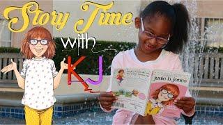 junie b jones toothless wonder   story time with kj   reading for children youtubekids