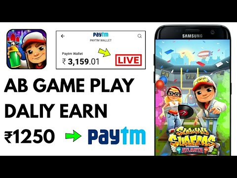 Play Game ₹1250 Daliy Earn Paytm Cash || Trusted App || LIVE Payment Proof Added
