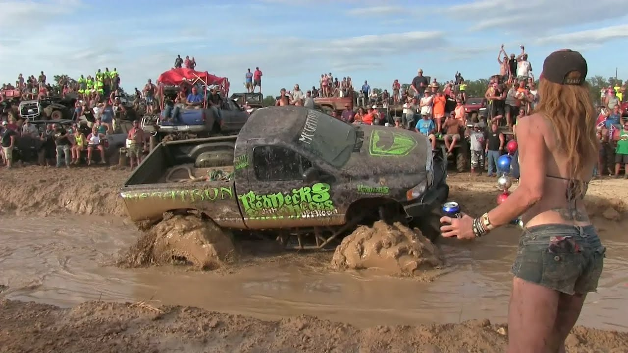 from Memphis redneck naked mud hole