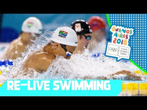 RE - LIVE | Day 05: Swimming | Youth Olympic Games 2018 |Buenos Aires