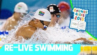 RE-LIVE | Day 05: Swimming | Youth Olympic Games 2018 |Buenos Aires
