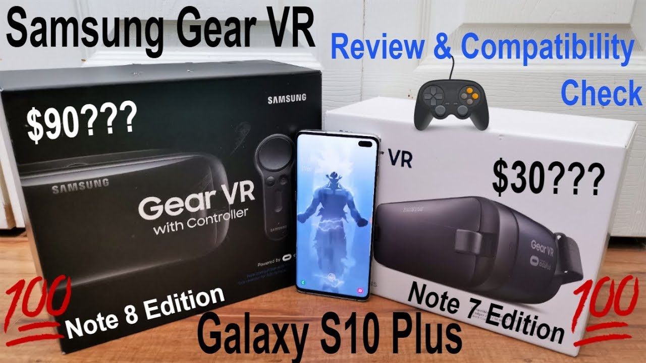 Samsung Galaxy S10 Plus Gaming Review With The Samsung Gear VR (Compatible  With S10, S10e,S10 Plus)