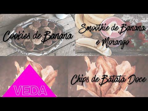 3 RECEITAS P/ LANCHINHO SAUDÁVEL #VEDA