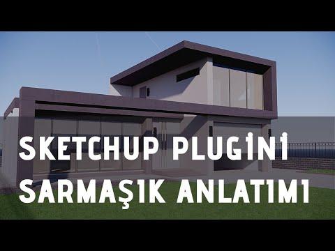 Sketchup Plugini Sarmaşık Anlatımı