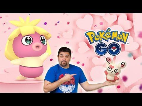 NUEVO EVENTO SAN VALENTÍN: Pokémon ROSAS, CARAMELOS x2, SPINDA CORAZÓN y más en Pokémon GO [Keibron] thumbnail