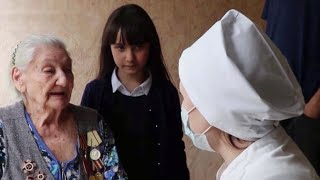 Ветераны Таджикистана проходят медосмотр на дому