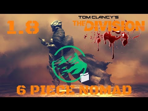 The Division l 6 PIECE CLASSIFIED NOMAD BUILD!!! W/LASTSTAND GAMEPLAY