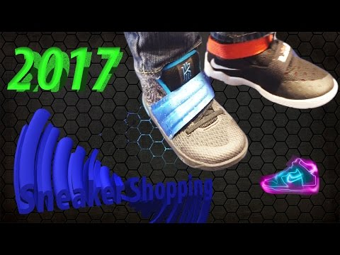 Sneaker Shopping  with 3 year old | OMG something amazing happen!