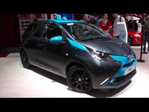 toyota aygo 2015 in detail review walkaround interior. Black Bedroom Furniture Sets. Home Design Ideas