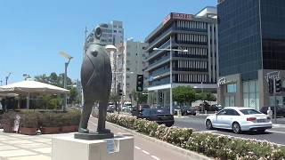 Кипр  Прогулка по Лимассолу  Cyprus Walk through Limassol