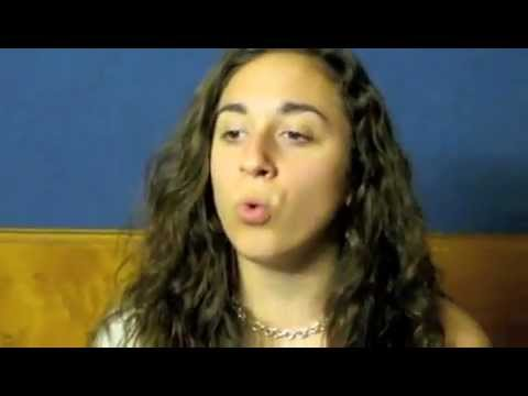 Girl makes animal sounds