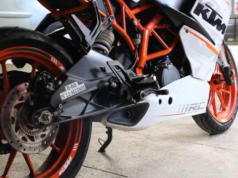 ktm rc 390 stock exhaust note youtube. Black Bedroom Furniture Sets. Home Design Ideas