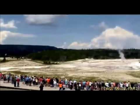 Highlights @Yellowstone Upper Geyser Basin. {HD Timelapse} 6/7/2016