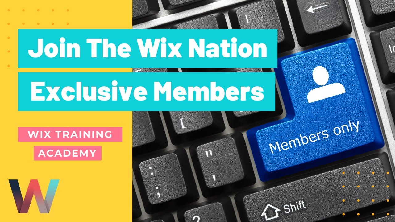 Wix Nation | Exclusive Membership Opportunity
