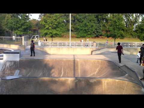 Powhatan Springs Skatepark, Arlington, VA