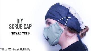 How to Make a Surgical Scrub Cap