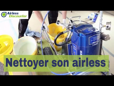 Nettoyer et rincer une pompe airless – Trucs Airless #14