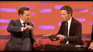 Benedict Cumberbatch & Eddie Redmayne Make Magic Together - The Graham Norton Show