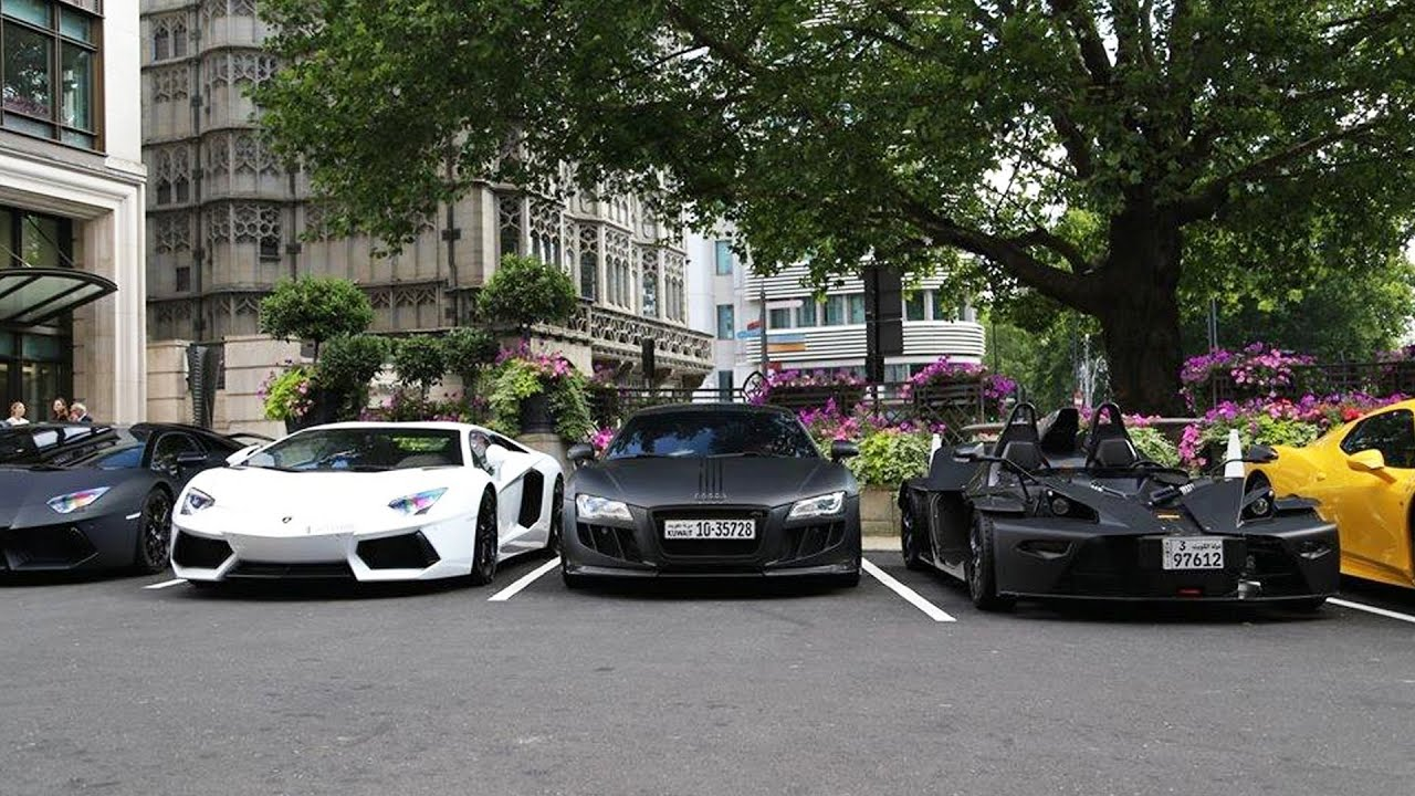 Ultimate Supercar Line Up Youtube