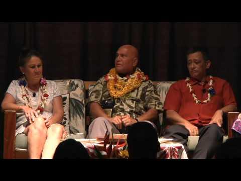 Panel discussion - 'A'ole pau ka 'ike i ka hālau ho'okahi