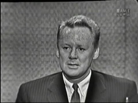 What's My Line? - Van Johnson; Joey Bishop [panel] (Jun 12, 1960)