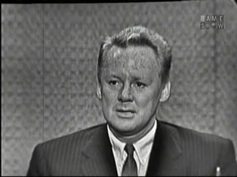 What's My Line? - Van Johnson; Joey Bishop [panel] (Jun 12, 1960)