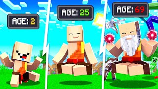 Evolving a MONK iฑto a GOD in MINECRAFT!