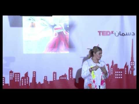 Rip & Reconstruct – An Artists Journey | Angie Hani | TEDxDasman