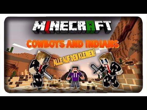 Alle auf den kleinen!mit ZataniLP  COWBOYS & INDIANS  Minecraft