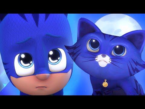 Pijamaskeliler Türkçe 2. Sezon  🐱 Robot'un Evcil Kedisi  🐱 çizgi Filmleri çocuklar Için