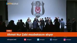 CANLI | Ahmet Nur Çebi mazbatasını alıyor